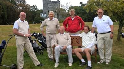28/09/2016 Interclubs Seniors Men II Finale Chateau d'Ardenne