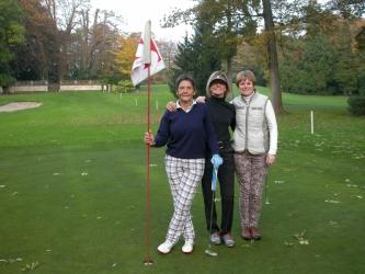 29/10/2016 Shoot out Ladies Emma Vrolix, Amélia Leskens, Jeanine Garin